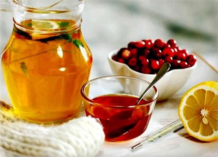 мед чай и лимон
