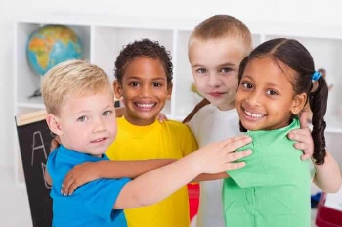 Дети разных национальностей