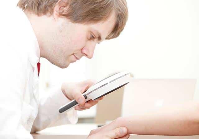 диагностика псориаза