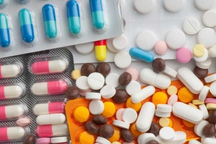 асортимент таблеток